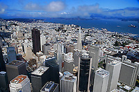 Downtown San Francisco (Aerial)