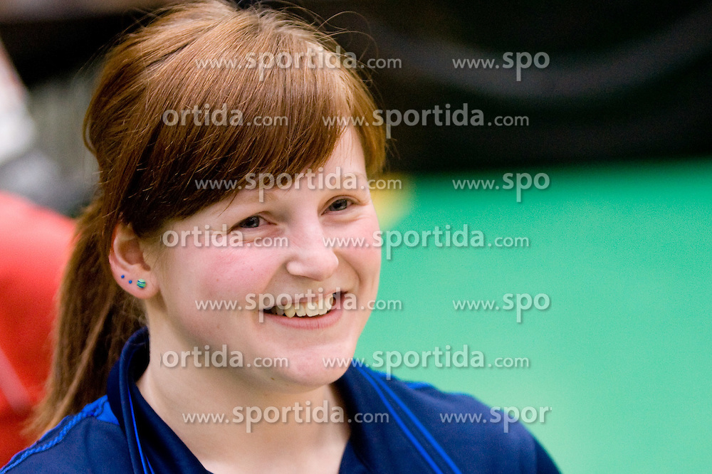 Barbara Meglic of Slovenia at 7th Slovenia Open - Thermana Lasko 2010 Table Tennis Championships for the Disabled Factor 40, on May 6, 2010, in Dvorana Tri Lilije,  Lasko, Slovenia.  (Photo by Vid Ponikvar / Sportida)