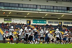 London Blitz extra point attempt is good - Mandatory by-line: Jason Brown/JMP - 27/08/2016 - AMERICAN FOOTBALL - Sixways Stadium - Worcester, England - London Warriors v London Blitz - BAFA Britbowl Finals Day