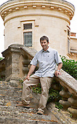 Christophe Blanc Chateau de Montpezat. Pezenas region. Languedoc. Owner winemaker. France. Europe.