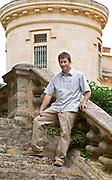 Christophe Blanc Chateau de Montpezat. Pezenas region. Languedoc. Owner winemaker. France. Europe.