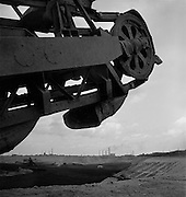Hauling Engine, Soft Coal Surface mine, Bergwitz-Kemberg near Bitterfeld, Sachsen-anhalt, 1936