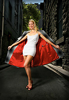 Model Kristy Davis who is techinically too thin to be a model  <br /> Pic By Craig Sillitoe SPECIALX 000