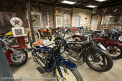 The Twisted Oz Motorcycle Museum in Augusta, KS hosted the riders and crew to a great steak dinner during the Motorcycle Cannonball Race of the Century. Stage-7 from Springfield, MO to Wichita, KS. USA. Friday September 16, 2016. Photography ©2016 Michael Lichter.