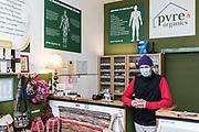 Alessandro D'altilia, owner of Pure Organics on Leith Walk, Edinburgh.