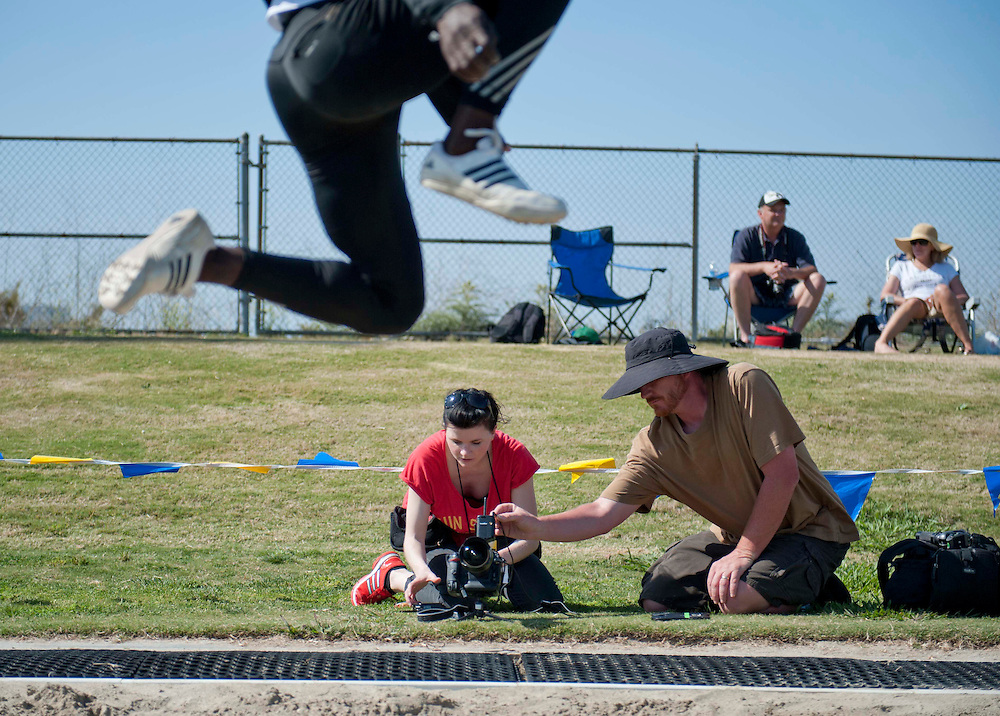 4/28/126:55:56 PM - Fun Pix Behind the Scenes with the cast and crew of Sports Shooter Academy.