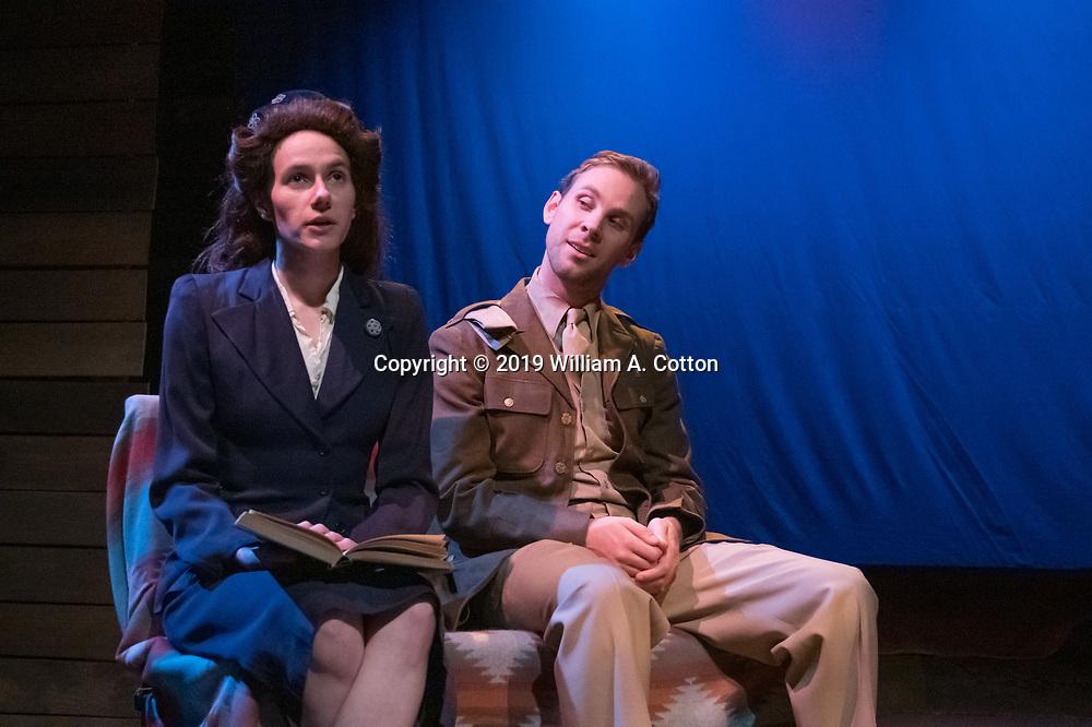 "The Bas Bleu Theatre Company rehearses its production of ""Last Train to Nibroc,"" February 13, 2019."