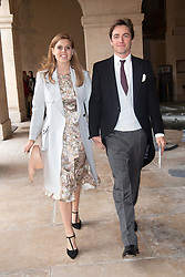 Princess Beatrice of York and her fiance Edoardo Mapelli Mozzi attend the Royal Wedding of Prince Jean-Christophe Napoleon and Olympia Von Arco-Zinneberg at Les Invalides on October 19, 2019 in Paris, France. Photo by David Niviere/ABACAPRESS.COM