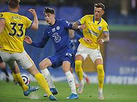Football - 2020 / 2021 Premier League - Chelsea vs Brighton & Hove Albion - Stamford Bridge<br /> <br /> Kai Havertz of Chelsea and Ben White of Brighton<br /> <br /> Credit : COLORSPORT/ANDREW COWIE