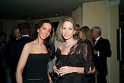 NATHALIE ESTFANDI; GILLI DJANOGLY,  Dinner hosted by Denise Estfandi, for the Council of the Serpentine Gallery to celebrate the opening of  Nancy Spero at the Serpentine Gallery. London.  Upper Brook house. 10a upper brook st.1 March 2011. -DO NOT ARCHIVE-© Copyright Photograph by Dafydd Jones. 248 Clapham Rd. London SW9 0PZ. Tel 0207 820 0771. www.dafjones.com.