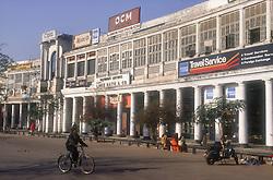 Connaught circus; shopping area in Delhi; India,