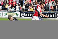 Fotball , 13. September 2009 , adeccoligaen ,  Bryne -SIF , Stavanger IF , Bryne Stadion, Kai Ove Stokkeland , Bryne , Cato Hansen , SIF , Foto: Tommy Ellingsen