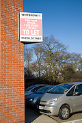 Commercial property To Let sign on building