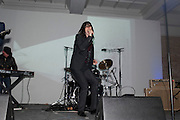 BOBBY GILLESPIE; , Art Plus Music Party 2010. Whitechapel art Gallery.  To raise money for the gallery';s education and community programme. 22 April 2010.