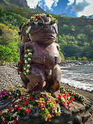 Tiki, Omao, Fatu Hiva, Marquesas, French Polynesia, South Pacific