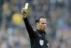 referee Bas Nijhuis during the Dutch Eredivisie match between NAC Breda and sc Heerenveen at the Rat Verlegh stadium on April 29, 2018 in Breda, The Netherlands