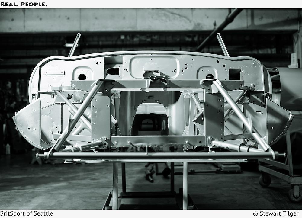 1961 Jaguar E Type OTS Bare Shell