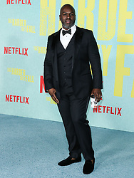 Corey Gamble arrives at the Los Angeles Premiere Of Netflix's 'The Harder They Fall' held at the Shrine Auditorium and Expo Hall on October 13, 2021 in Los Angeles, California, United States. Photo by Xavier Collin/Image Press Agency/ABACAPRESS.COM