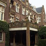 Ingang hotel kasteel de Hooge Vuursche
