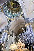 Interior of the Ayia Napa Cathedral, Limassol, Cyprus