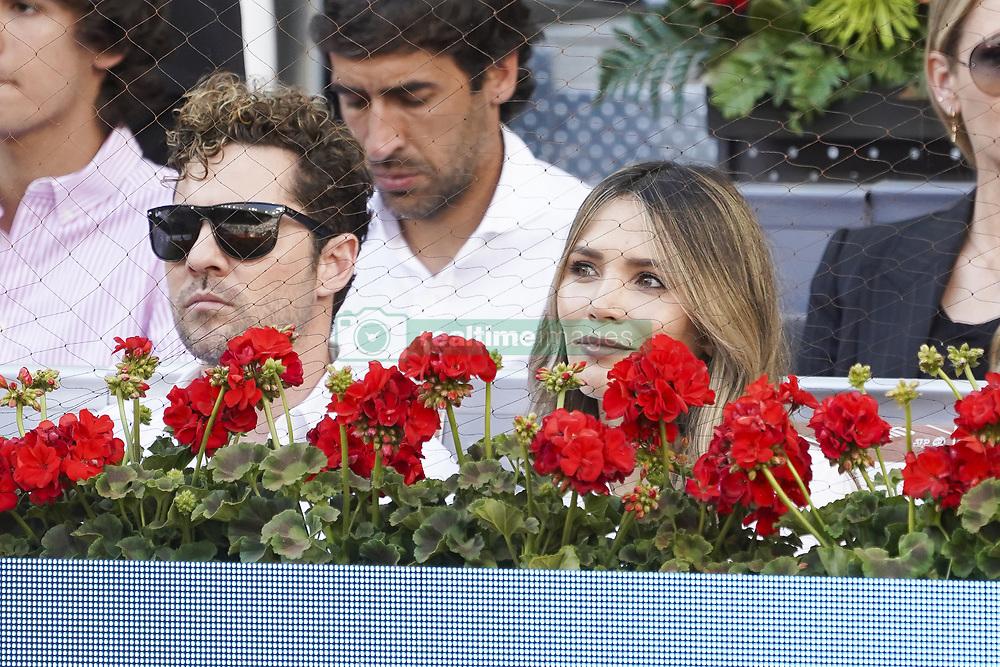 May 12, 2019 - Madrid, Spain - David Bisbal, Rosanna Zanetti  attend the men's final during day 9 of the Mutua Madrid Open at La Caja Magica on May 12, 2019 in Madrid, Spain. (Credit Image: © Oscar Gonzalez/NurPhoto via ZUMA Press)