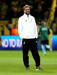Liverpool Manager Jurgen Klopp - Mandatory by-line: Robbie Stephenson/JMP - 07/04/2016 - FOOTBALL - Signal Iduna Park - Dortmund,  - Borussia Dortmund v Liverpool - UEFA Europa League Quarter Finals First Leg