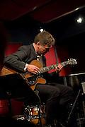Peter Bernstein performs solo guitar at the Nashville Jazz Workshop in Nashville, TN