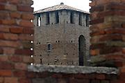Italy, Verona, Scaliger Bridge (ponte Scaligero)