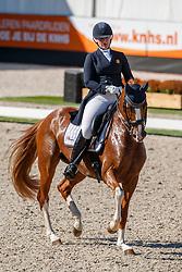 Vaessen Carlijn, NED, Eva Lynn<br /> Nederlands Kampioenschap dressuur<br /> Ermelo 2020<br /> © Hippo Foto - Sharon Vandeput<br /> 20/09/2020
