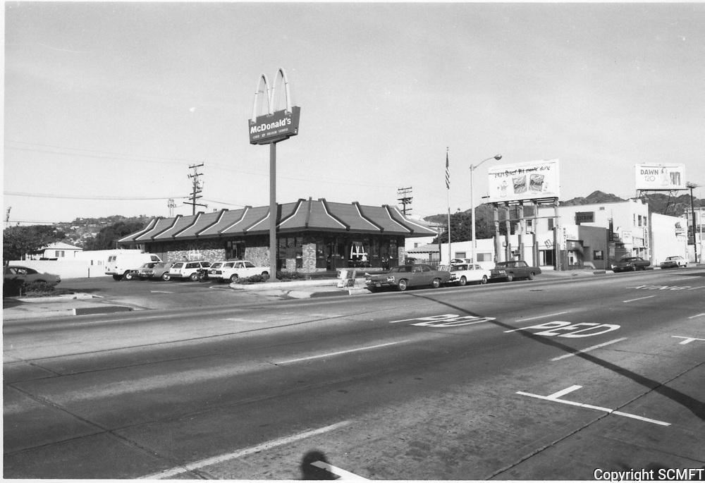 1976 McDonald's on La Brea Ave.