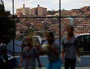 Belo Horizonte_MG, Brasil...Escola Municipal Daniel Alvarenga. Relacao da escola com a comunidade era de conflito, projetos de integracao estao resolvendo o problema...The Municipal School Daniel Alvarenga. The relationship of the school with the community was in conflict, projects of integration are solving the problem...Foto: LEO DRUMOND / NITRO