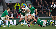 Twickenham. Great Britain.<br /> Jack NOWELL, breaking loose during the RBS Six Nations Rugby, England vs Ireland at the RFU Twickenham Stadium. England.<br /> <br /> Saturday  27/02/2016. <br /> <br /> [Mandatory Credit; Peter Spurrier/Intersport-images]