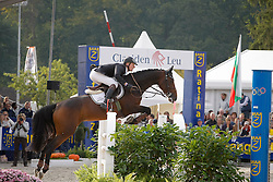 Greeve Michael (NED) - Uvory<br /> World Championship Young Horses Lanaken 2008<br /> Photo Copyright Hippo Foto