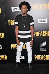 """Echo Kellum arrives at AMC's """"Preacher"""" Season 2 Premiere Screening held at the Theater at the Ace Hotel in Los Angeles, CA on Tuesday, June 20, 2017.  (Photo By Sthanlee B. Mirador) *** Please Use Credit from Credit Field ***"""