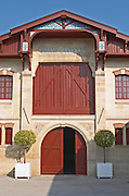 Winery building. Chateau Brane Cantenac, Margaux, Medoc, bordeaux, France