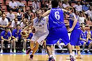DESCRIZIONE : Forli DNB Final Four 2014-15 Npc Rieti BCC Agropoli<br /> GIOCATORE : Roberto Feliciangeli<br /> CATEGORIA : palleggio penetrazione<br /> SQUADRA : Npc Rieti<br /> EVENTO : Campionato Serie B 2014-15<br /> GARA : Npc Rieti BCC Agropoli<br /> DATA : 13/06/2015<br /> SPORT : Pallacanestro <br /> AUTORE : Agenzia Ciamillo-Castoria/M.Marchi<br /> Galleria : Serie B 2014-2015 <br /> Fotonotizia : Forli DNB Final Four 2014-15 Npc Rieti BCC Agropoli