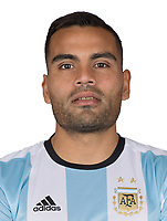 Conmebol - World Cup Fifa Russia 2018 Qualifier / <br /> Argentina National Team - Preview Set - <br /> Gabriel Mercado