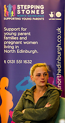 Pictured: Paige Cleaver<br /> Today social security minister Jeane Freeman MSP visited voluntary organisation  Stepping Stones (North Edinburgh), a group which helps young parent families and pregnant women, and met parents and children. The visit marked the introduction of the first Social Security (Scotland) Bill.<br /> Ger Harley | EEm 21 June  2017
