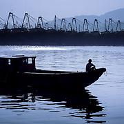 Macau fisherman, Macau, China (January 2006)
