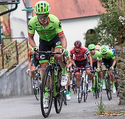 04.07.2017, Pöggstall, AUT, Ö-Tour, Österreich Radrundfahrt 2017, 2. Etappe von Wien nach Pöggstall (199,6km), im Bild Tom-Jelte Slagter (NED, Cannondale-Drapac Pro Cycling Team) Etappensieger im Anstieg Jasenegg // Tom-Jelte Slagter of Nederlands (Cannondale-Drapac Pro Cycling Team) at the climb Jasenegg during the 2nd stage from Vienna to Pöggstall (199,6km) of 2017 Tour of Austria. Pöggstall, Austria on 2017/07/04. EXPA Pictures © 2017, PhotoCredit: EXPA/ Reinhard Eisenbauer