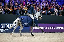 FuchsFuchs Martin, SUI, Clooney 51<br /> LONGINES FEI Jumping World Cup™ - Lyon 2019<br /> © Hippo Foto - Julien Counet<br /> 03/11/2019