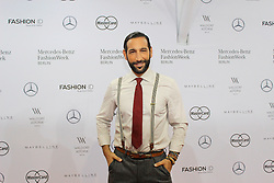 22.01.2016, Kosmos, Berlin, GER, Mercedes Benz Berlin Fashion Week, Herbst Winter 2016, im Bild Massimo Sinato // during the Mercedes Benz Fashion Week Berlin Autumn Winter 2016 in Berlin, Germany on 2016/01/22. EXPA Pictures © 2016, PhotoCredit: EXPA/ Eibner-Pressefoto/ Eibner-Pressefoto<br /> <br /> *****ATTENTION - OUT of GER*****