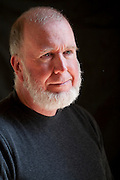 Kevin Kelly, in his home office in Pacifica, California.<br /> Senior Maverick for Wired.<br /> Author of What Technology Wants.