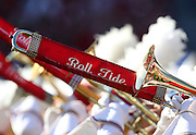 TUSCALOOSA, AL - NOVEMBER 10:  A detail of the University of Alabama marching band during the game between the Alabama Crimson Tide and the Texas A&M Aggies at Bryant-Denny Stadium on November 10, 2012 in Tuscaloosa, Alabama.  (Photo by Mike Zarrilli/Getty Images)