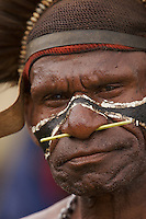 Man in Goroka, Eastern Highlands Province, Papua New Guinea.