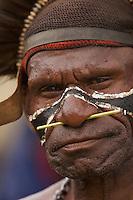 Man in Goroka, Eastern Highlands Province, Papua New Guinea.