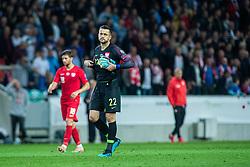 Łukasz Fabiański of Poland during the 2020 UEFA European Championships group G qualifying match between Slovenia and Poland at SRC Stozice on September 6, 2019 in Ljubljana, Slovenia. Photo by Grega Valancic / Sportida