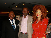 **EXCLUSIVE**.Mr. Wilson Jeudi, Mayor of the City of Delmas, Haiti, Sidney Poitier and Chantal Biya, First Lady of Cameron..Pras Michel of The Fugees Honoring The First Ladies of Africa at a Cocktail Reception in partnership US Doctors For AFRICA..WP Wolfgang Puck Restaurant..Pacific Design Center..West Hollywood, CA, USA..Monday, April 20, 2009..Photo By Celebrityvibe.com.To license this image please call (212) 410 5354; or Email: celebrityvibe@gmail.com ; .website: www.celebrityvibe.com.