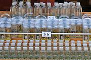 Israel, Yardenit Baptismal Site In the Jordan River Near the Sea of Galilee, Jordan River water in bottles for sale