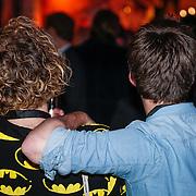 NLD/Amsterdam/20121128 - Opening expositie Toetanchamon, Paul Turner en partner Hugo Kennis
